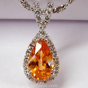 mandarin garnet spessartite gemstone information at ajs gems