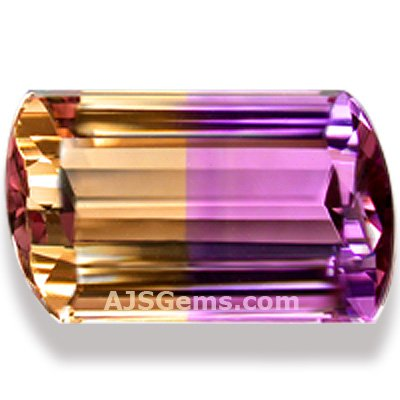 Brilliant Ametrine Gemstone