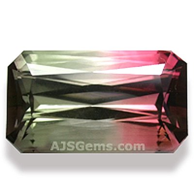 8.45 ct Bi-color Tourmaline