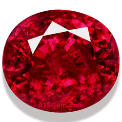 5.46 ct Unheated Burma Ruby