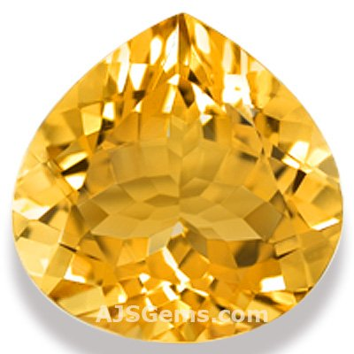 Brilliant Citrine Gemstone