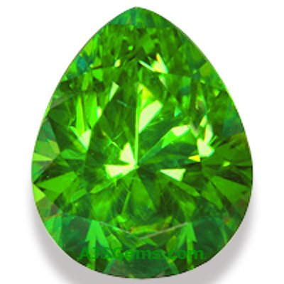 2.21 ct Demantoid Garnet, Russia