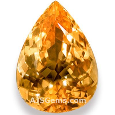 4.91 ct Imperial Topaz Pear, Brazil
