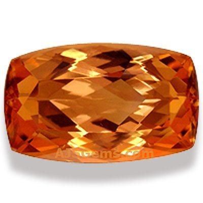 5.51 ct Imperial Topaz Cushion, Brazil