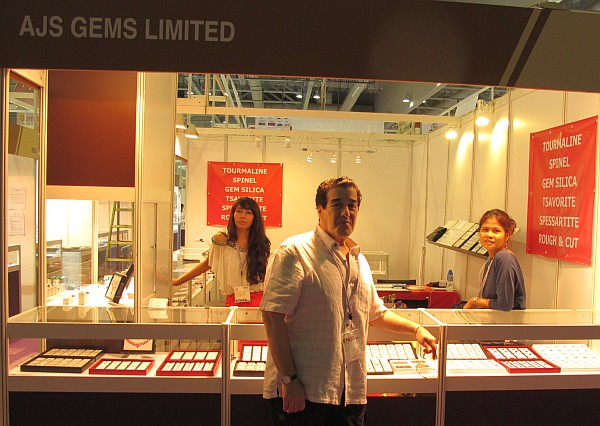 AJS Gems at Hong Kong Gem Fair 2012