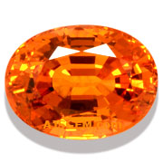 5.07 ct Spessartite Garnet from Nigeria