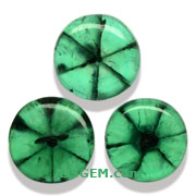 6.35 ct Set of Traphiche Emeralds from Colombia