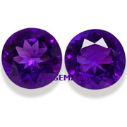 8.85 ct Amethyst Matched Pair from Brazil