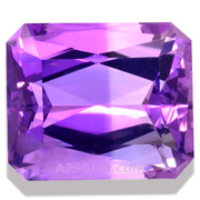 17.21 ct Bi-Color Amethyst from Brazil