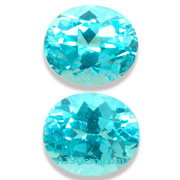 2.64 ct Apatite Matched Pair from Madagascar