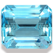 Natural Aquamarine Octagon