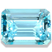 15.90 ct Aqumarine Emerald Cut
