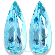Aquamarine Matched Pair