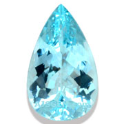 5.60 ct Aquamarine Pear