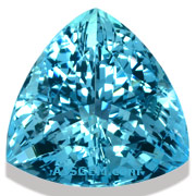 Aquamarine Trillion