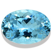6.02 ct Aquamarine Oval
