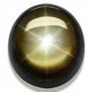 20.12 ct Black Star Sapphire from Thailand