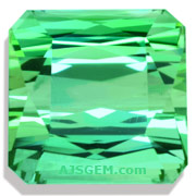7.54 ct Mint Tourmaline from Namibia