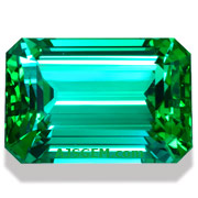 20.28 ct Blue Green Tourmaline from Namibia