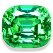 9.83 ct Vivid Blue Green Tourmaline from Namibia