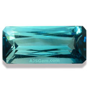 1.36 ct Blue Tourmaline from Namibia