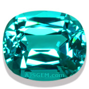 3.40 ct Blue Tourmaline from Namibia