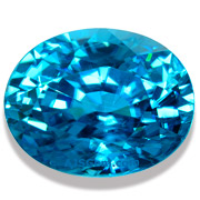 7.53 ct Blue Zircon from Cambodia