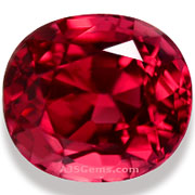 2.01 ct Burma Red Spinel