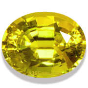 3.49 ct Yellow Tourmaline, Nigeria