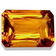 21.93 ct Madeira Citrine from Brazil