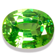 2.19 ct Green Zircon