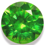 2.01 ct Demantoid Garnet, Russia