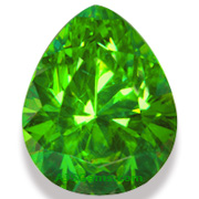 2.21 ct Demantoid Garnet, Babrovka, Russia