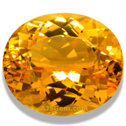 5.88 ct Imperial Topaz from Brazil