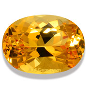 3.79 ct Imperial Topaz from Brazil