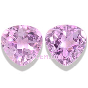 2.55 ct Pink Imperial Topaz Pair from Brazil