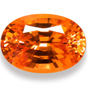 5.18 ct Mandarin Spessartite Garnet from Nigeria