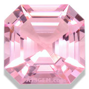 7.09 ct Morganite from Brazil