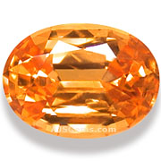 2.40 ct Spessartite Garnet from Nigeria
