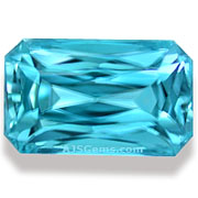 4.48 ct Blue Zircon from Cambodia