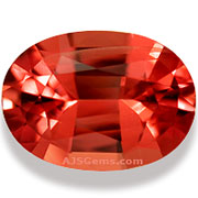 1.58 ct Flame Spinel from Burma