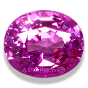 1.55 ct Pink Sapphire from Tanzania