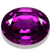 3.65 ct Purple Garnet from Mozambique
