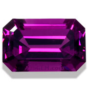 3.18 ct Purple Garnet from Mozambique