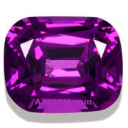 3.00 ct Purple Garnet Cushion from Mozambique