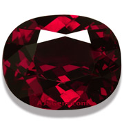 39.22 ct Rhodoilte Garnet from Madagascar