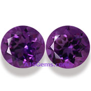 21.00 ct Amethyst matched pair, Zambia