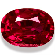 2.06 ct Unheated Ruby, Mozambique