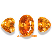 5.95 ct Spessartite Garnet Suite from Nigeria