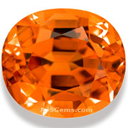5.07 ct Spessartite Garnet
